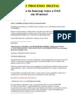 Processo Digital Oas Bancoop