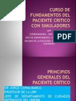 01) Dr. Cerna - Principios Generales Del Paciente Critico