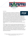Letter to Long Beach Voters Urging Change, April 7, 2014