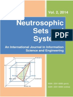 Neutrosophic Sets and Systems, Vol. 2, 2014