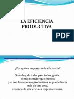 2. LA EFICIENCIA PRODUCTIVA 060411.docx.pptx
