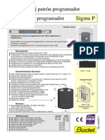 643325F Reloj Patron Programador Sigma P