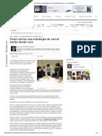 Cómo iniciar una estrategia de social media desde cero - Forbes México