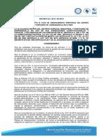 Decreto 0212 de 2014 Adopta POT