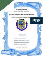 3º IMFORME DE TOPOG. MIN. I