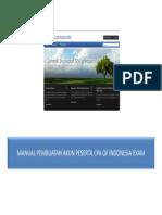 Manual Pembuatan Akun Peserta CPA of Indonesia Exam (USAP)