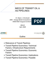 The Economics of Transit Oil & Gas Pipelines