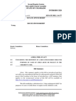 Colorado Senate Bill SB 14-177
