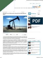 Bombeo en la Faja sumó otros 60 mil barrildía en 2013