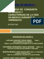 Proceso de Conquista de Mexico Bloque 5y6