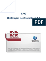 FAQ - Unificação de Conceitos