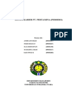 SISTEM KARIER PT. PERTAMINA (PERSERO)