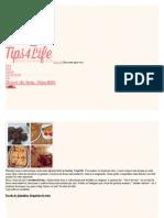 Doces Do Bem #Tips4life _ Tips4Life