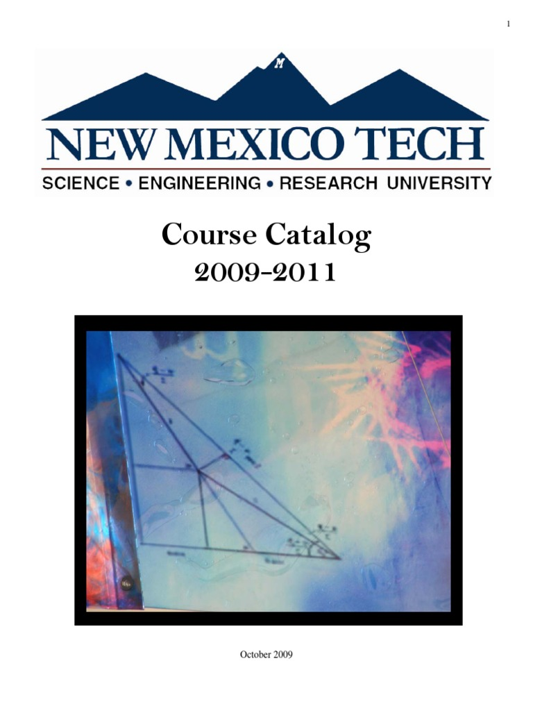 NMT | Course Credit | Engineering