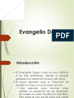 Introducion Evangelio de Juan