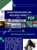 Caracterizacion Del Recurso Minero