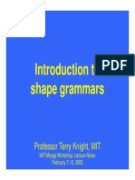 Introductions to Shape Grammar