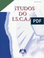 Estudos do ISCAA (2ª série) - Nº5, Ano 1999