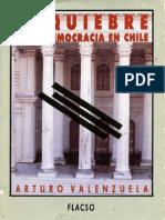 El Quiebre de la Democracia en Chile - Arturo Valenzuela