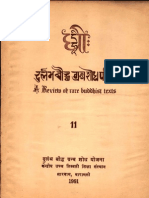 Dhih, A Review of Rare Buddhist Texts XI - Prof. S. Rinpoche and Prof. Vrajvallabh Dwivedi
