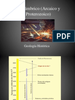5a Precámbrico geología