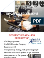 sports therapy ppt