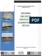 Informe Encuesta Alimentacion 2013