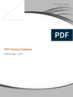 2013 RPN Training Guideline Update 06 18 13