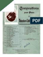 -Leschetizky - 41-1 Trois Etudes Caract Ristiques Op 41 No 1 Etude Humoresque - Bote Bock