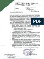 Pelaksanaan Penyesuaian Jabatan Fungsional ( Inpassing ) Fungsional Tertentu Pengelola Pengadaan Barang / Jasa Pemkab. Trenggalek