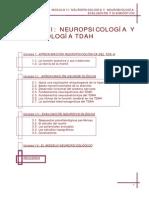 Neuropsicologia Y Neurobiologia Evaluacion y Diagnostico