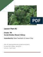 Lesson 1- History 5th Grade