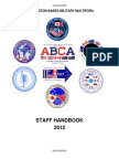 2012 Multifora Handbook - The Five Eyes data-sharing communities