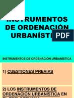 Instrumentos de Ordenacion Urbanistica