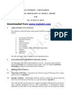 Anna University Project Sample Format Mykalvi