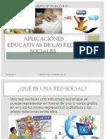 Trabajo 21. Aplicaciones Educativas de Las Redes Sociales