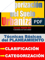 Categorizacion Suelo Urbanizable