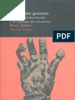 Jonás, Hans - La Religión Gnóstica - Mensaje del Dios extraño y los comienzos del Cristianismo