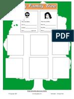 Familytree Worksheet