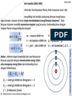 Model Atom Bohr(Postulat)