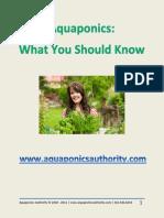 Aquaponics Bonus