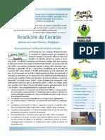 Rendición de Cuentas Ludotecas NAVES Itinerantes Los Patios- enero- marzo-2014