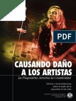 SPA-Causando Daño a Los Artistas -Harming_Artist