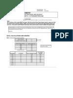 stoichiometry i postlab