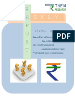 Currency Weekly Report 07 April to 11 April