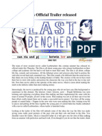 Lastbenchers Official Trailer Released