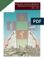 Buku Data Penduduk Sasaran Program Kesehatan 2011 2014