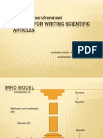 0 English for Writing Scientific Articles