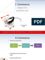 Law E-Commerce 5P24 PPT