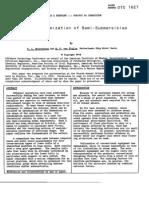 Motion Optimization of Semi-Submersibles